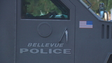 Man suspected of several high-dollar crimes in custody after 5 hour standoff in Bellevue