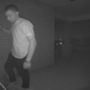 Peeping Tom caught creeping on 'scary' home security videos
