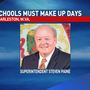 State superintendent says county schools will make up missed school days from strike