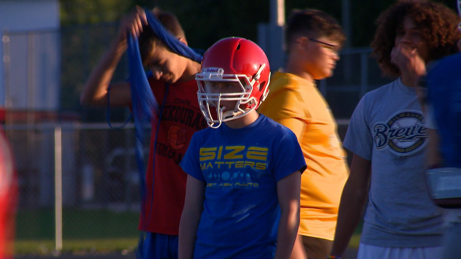 Sturgeon Bay has moved to 8-man football this season. (WLUK)
