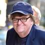 Filmmaker Michael Moore thinks humor can win the day