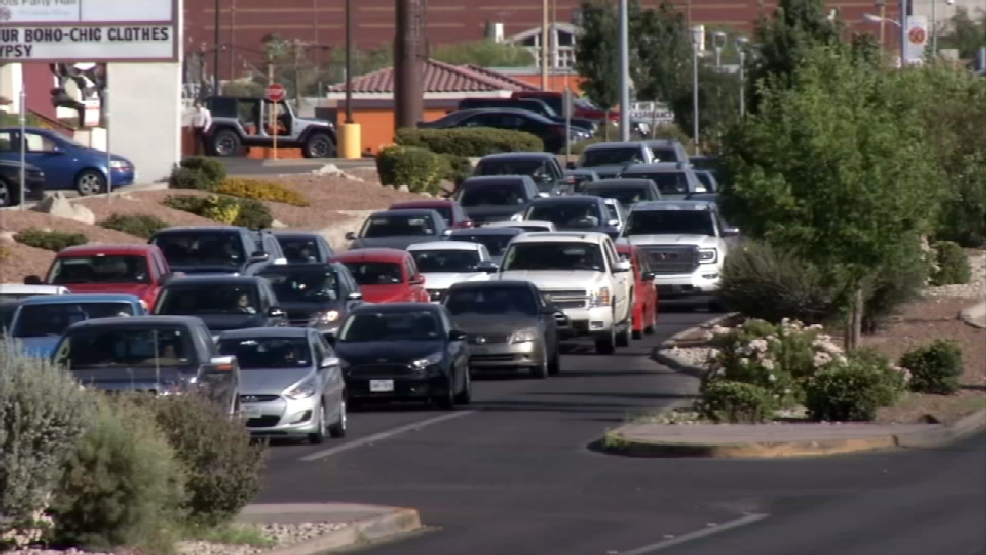 Traffic Construction Affecting Some West El Paso