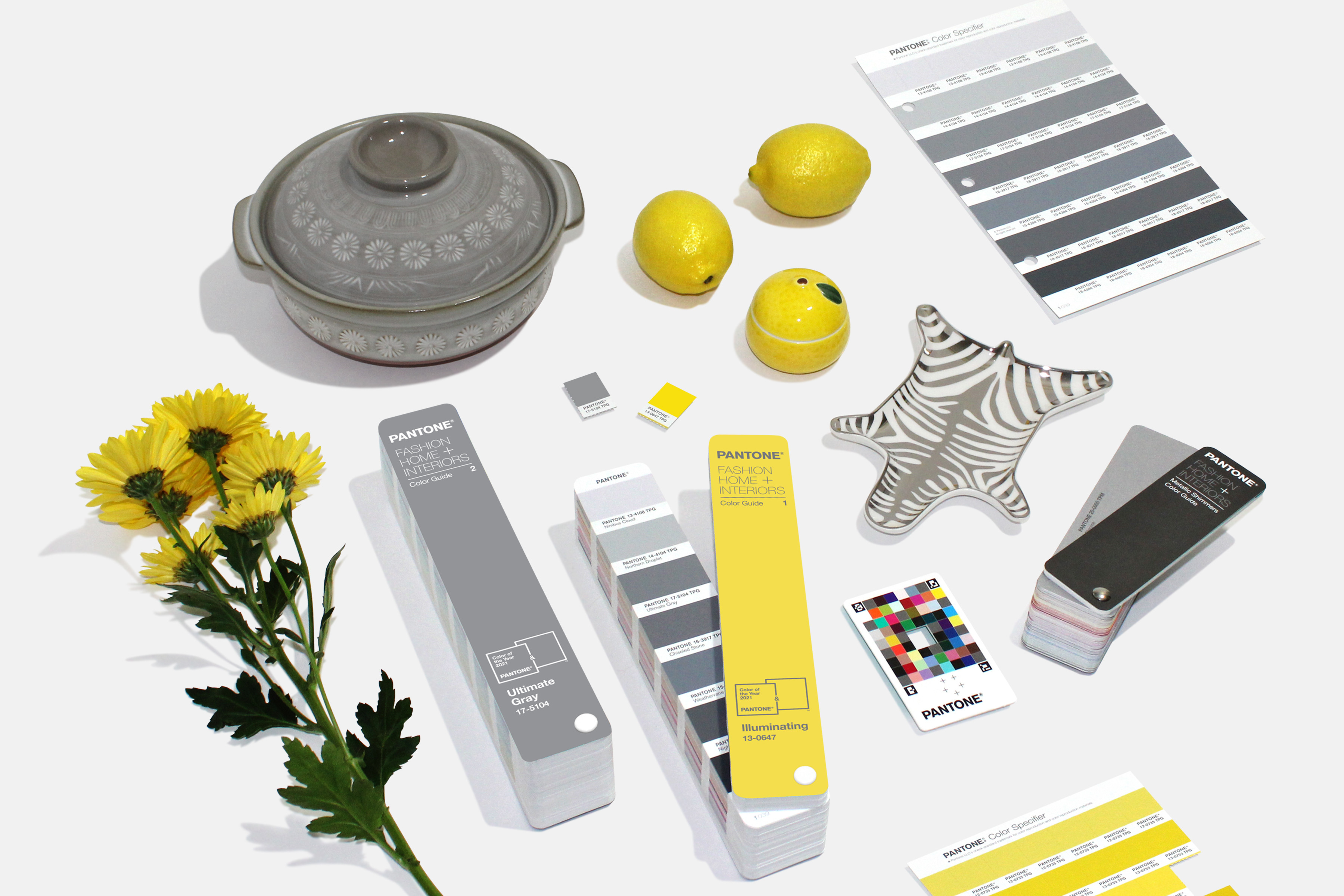 Pantone colors of the year for 2021 are Ultimate Gray and Illuminating. (Image: Pantone)