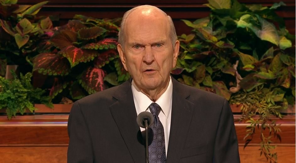 FILE Photo of Russell M. Nelson, current president of The Church of Jesus Christ of Latter-day Saints. (Photo: KUTV)