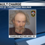 Novinger man accused of pulling knife on mailman