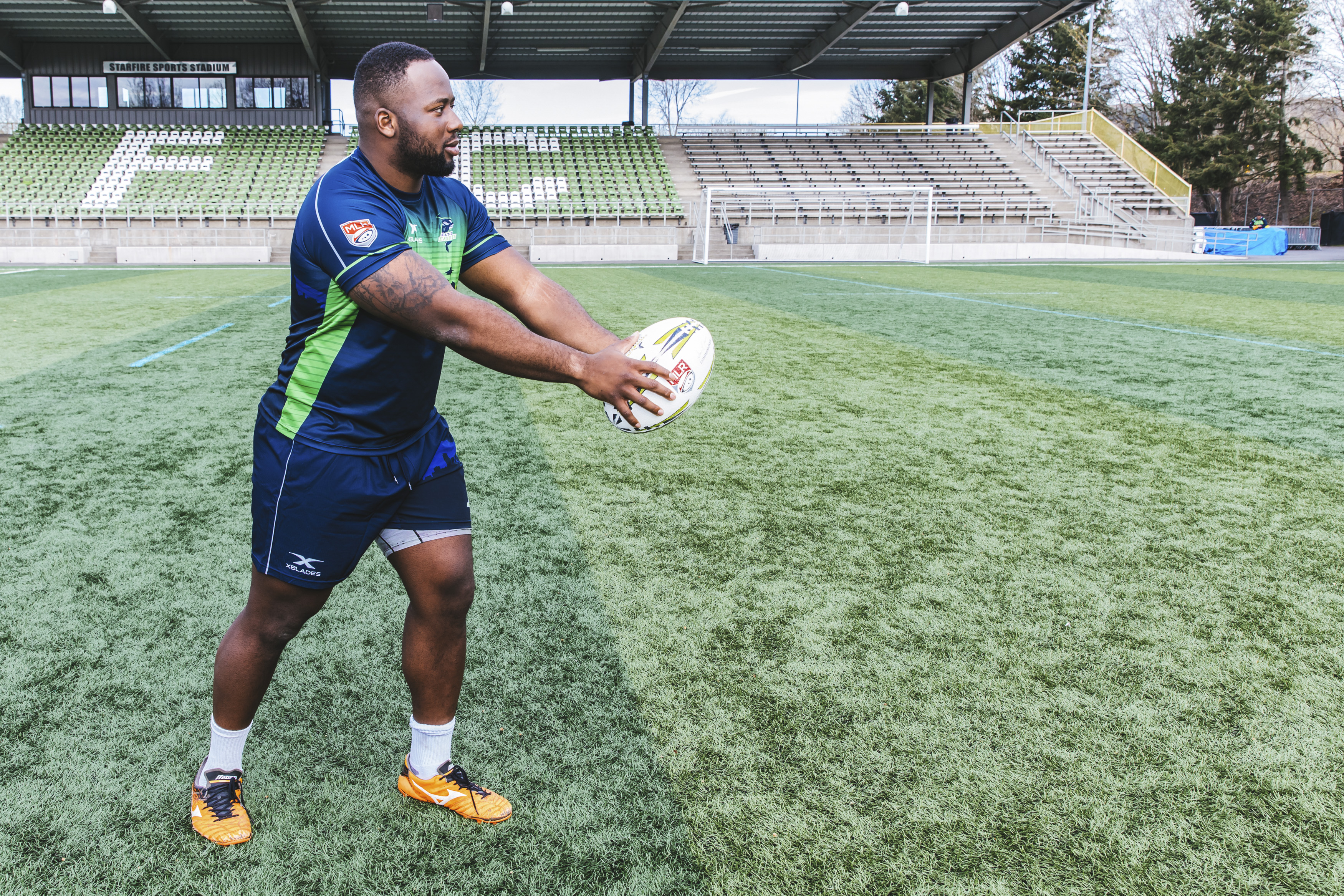 Meet DJ! DJ is a Loosehead Prop for the Seawolves. The 24 year old is originally from Oakville, Ontario, Canada. His favorite snack is Mac & Cheese and his guilty pleasure television show is The Office. (Image: Sunita Martini / Seattle Refined).