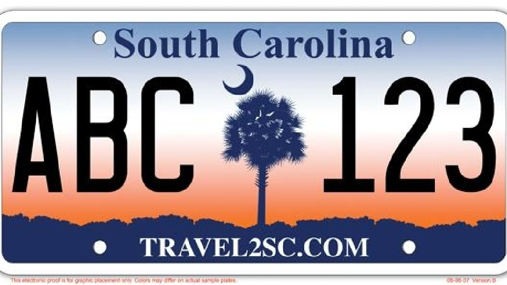 Sc To Do Away With Sunrise And Palmetto Tree License Plate