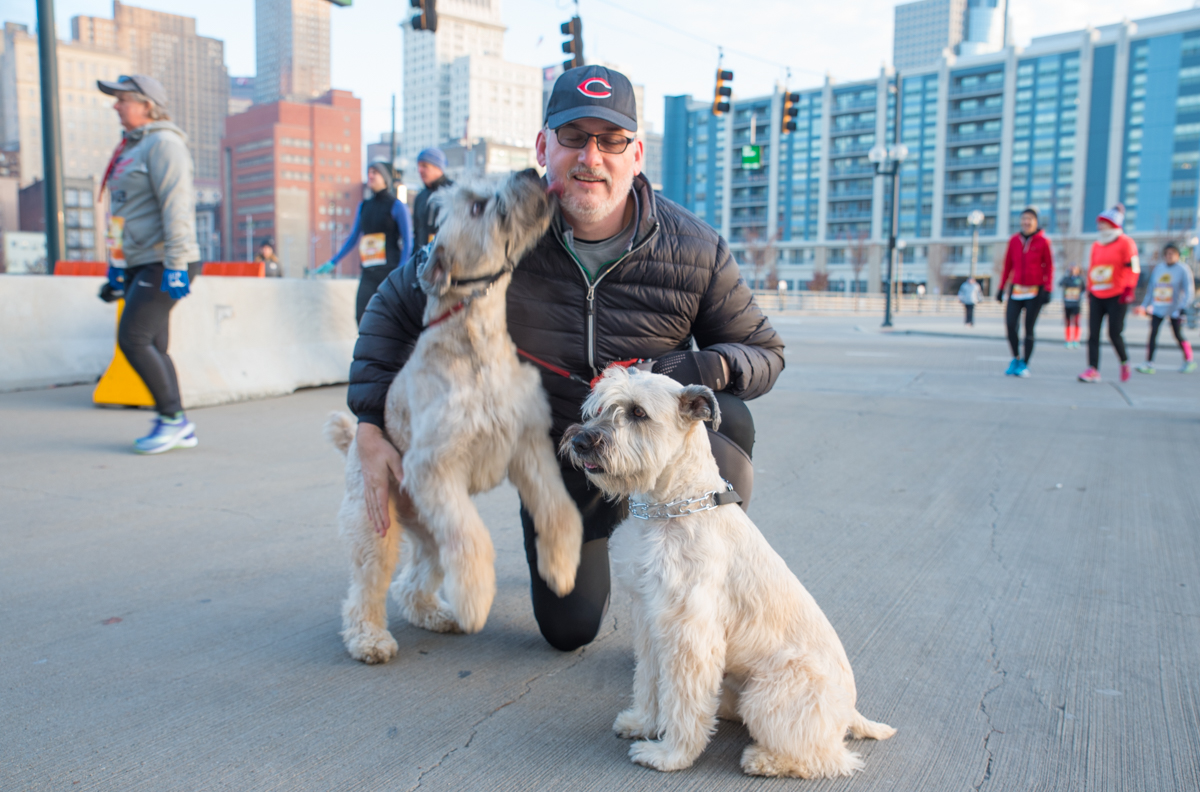 Kevin Nichols with Baxter and Macy / Image: Sherry Lachelle Photography // Published: 11.24.16<p></p>