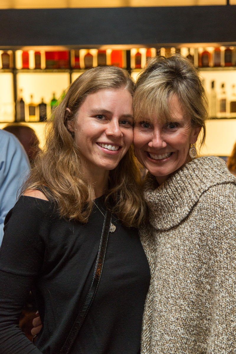 Leah Zipperstein, Managing Editor of Cincinnati Refined, with Sandy Leary (Image: Daniel Smyth Photography)