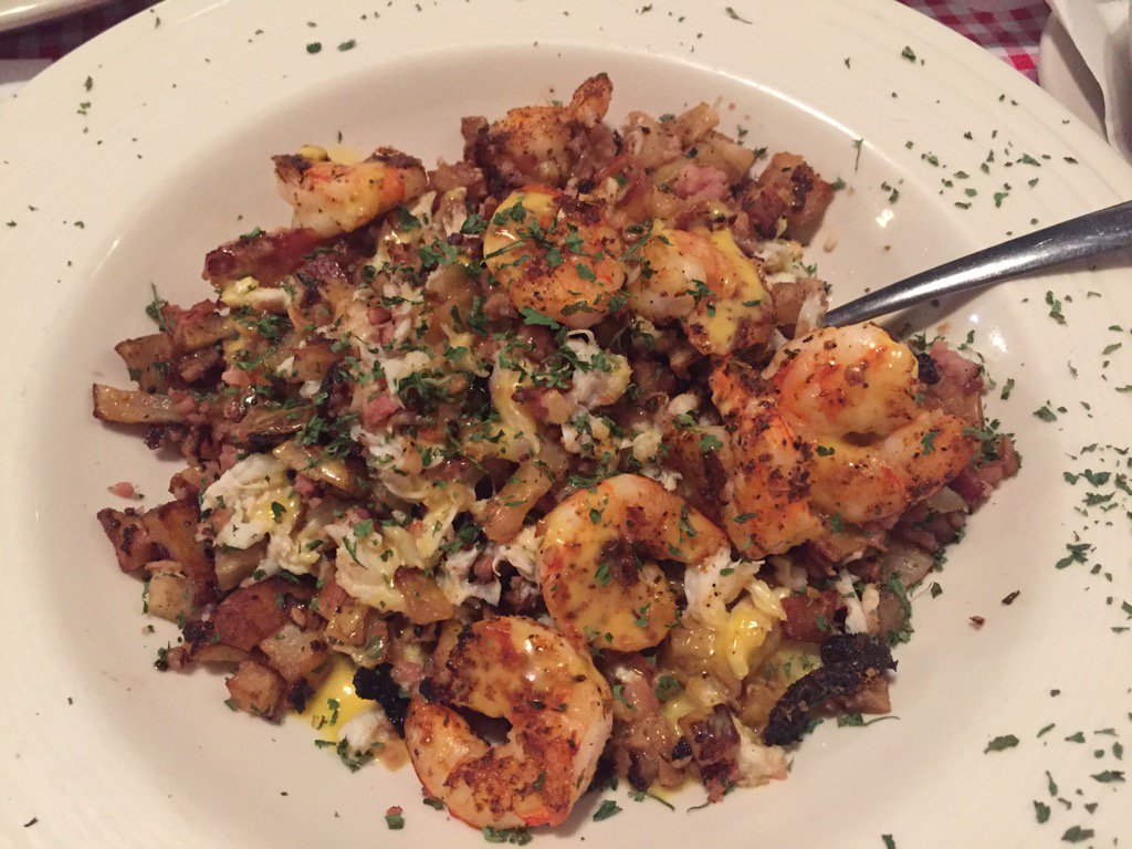 Oh my, the crab hash at See Wee (Dave Williams/WCIV)