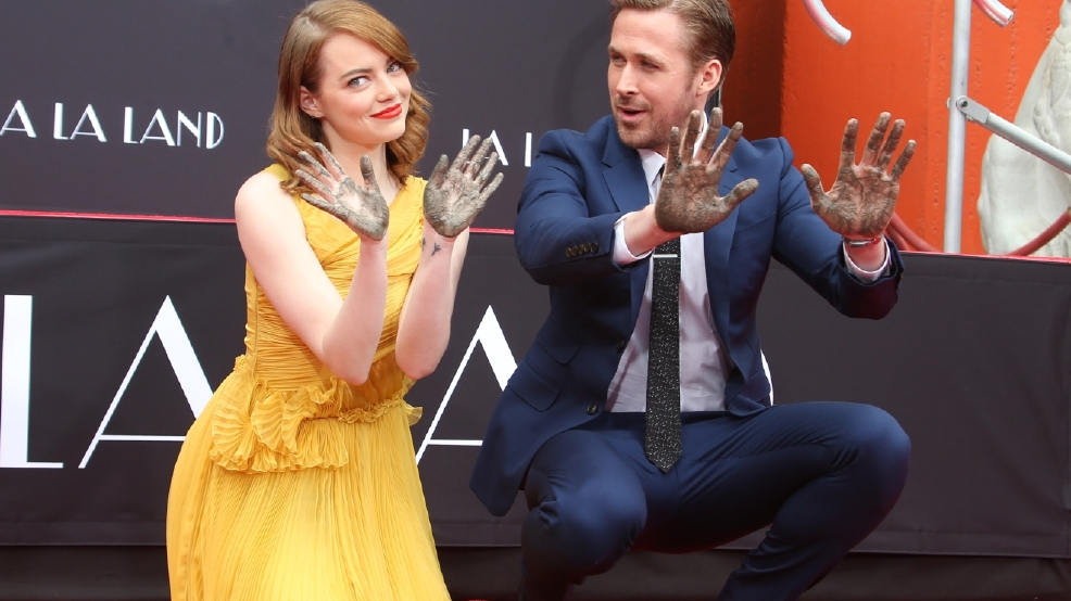 Gallery: Ryan Gosling and Emma Stone get hands and feet in Hollywood cement