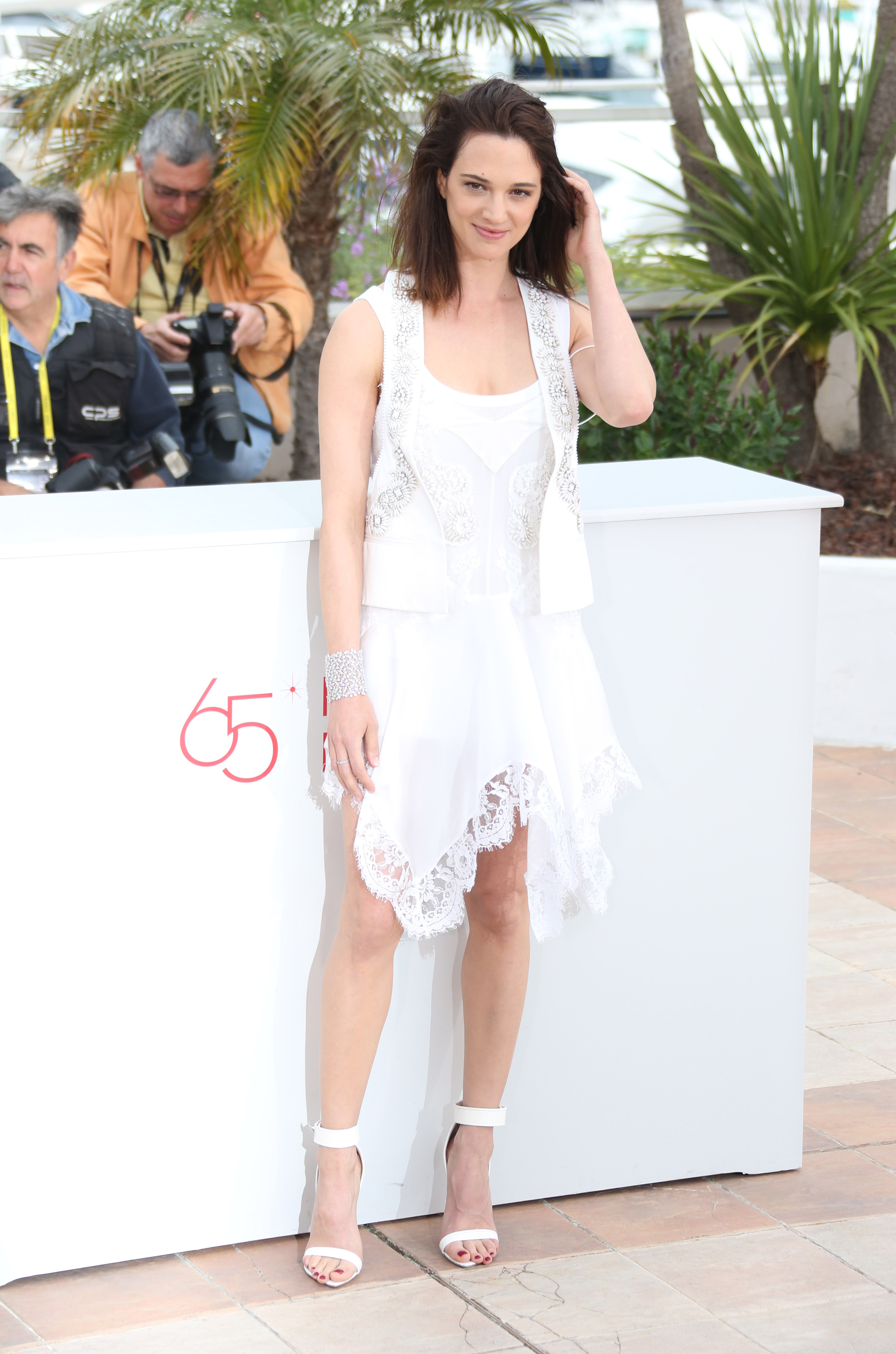 Asia Argento attends{ } 'Dracula 3D' photocall during the 65th Annual Cannes Film Festival. When: 19 May 2012 Credit: WENN