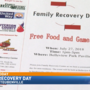 'Family Recovery Day' to take place Friday