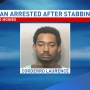 Man arrested after overnight stabbing