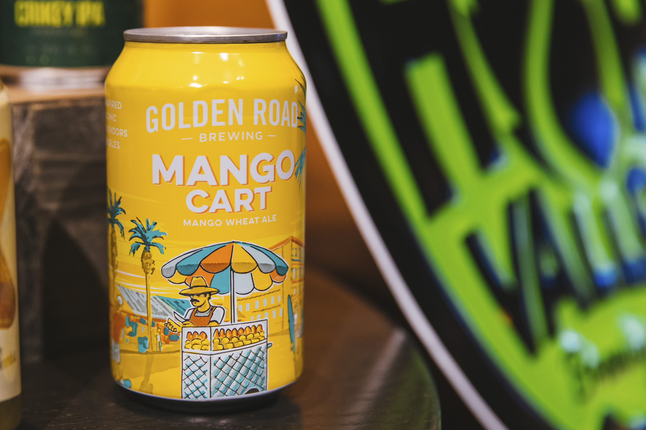 Golden Road Brewing. We snuck in a little preview of the beer, wine and spirits offerings for the 2020 Seattle Mariners season at T-Mobile Park! Home Opener is March 26 at 1:10 p.m. agains the Rangers. Go M's! (Image: Sunita Martini / Seattle Refined)