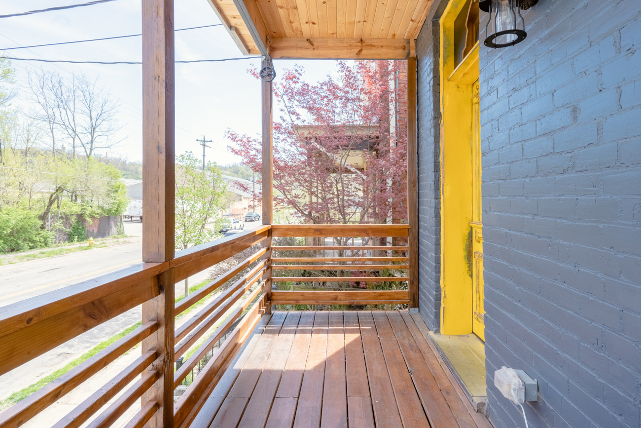 The front porch / Image courtesy of Tom Sinclair // Published: 1.16.20