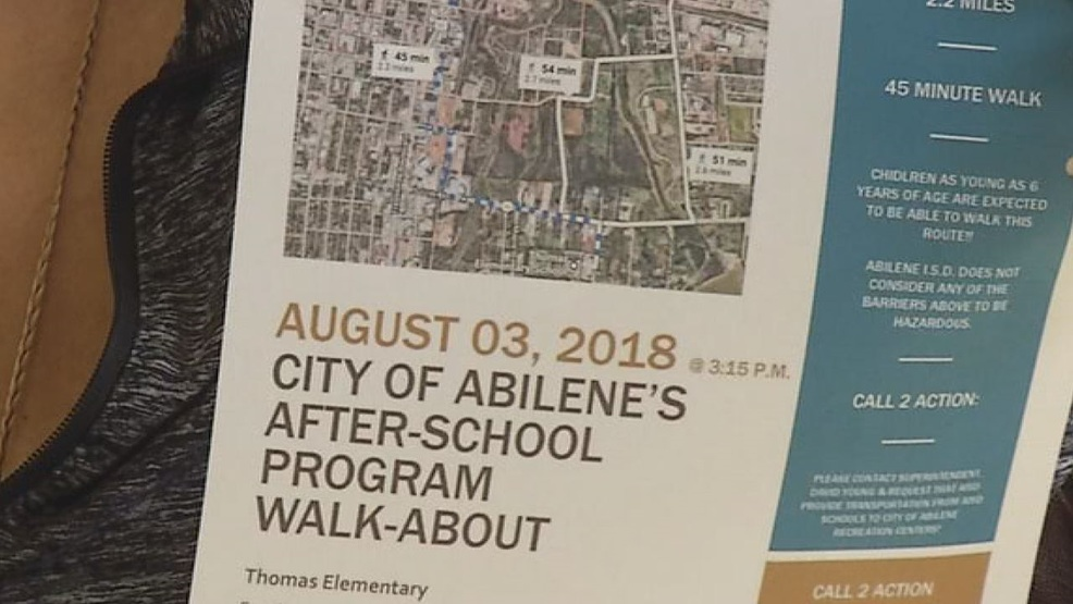 Abilene Isd Considers Transportation For Students In Citys After