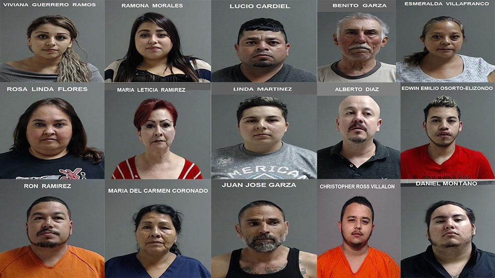 15 suspects