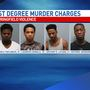 4 Men Officially Charged with Murder in Wednesday Fatal Shooting
