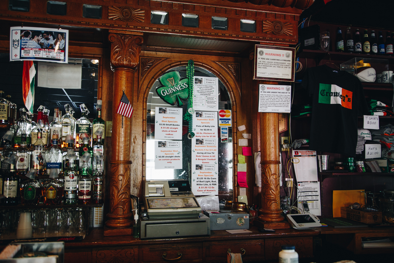 Crowley's Highland House Café is the oldest Irish pub in Cincinnati. The Crowley family continues to own and operate the bar, offering a wide range of beers that makes it a popular hangout on Fridays and Saturdays. And you won't have any trouble finding it because it's the only Irish pub in Mount Adams. ADDRESS: 958 Pavilion Street (45202) / Image: Catherine Viox // Published: 10.2.18