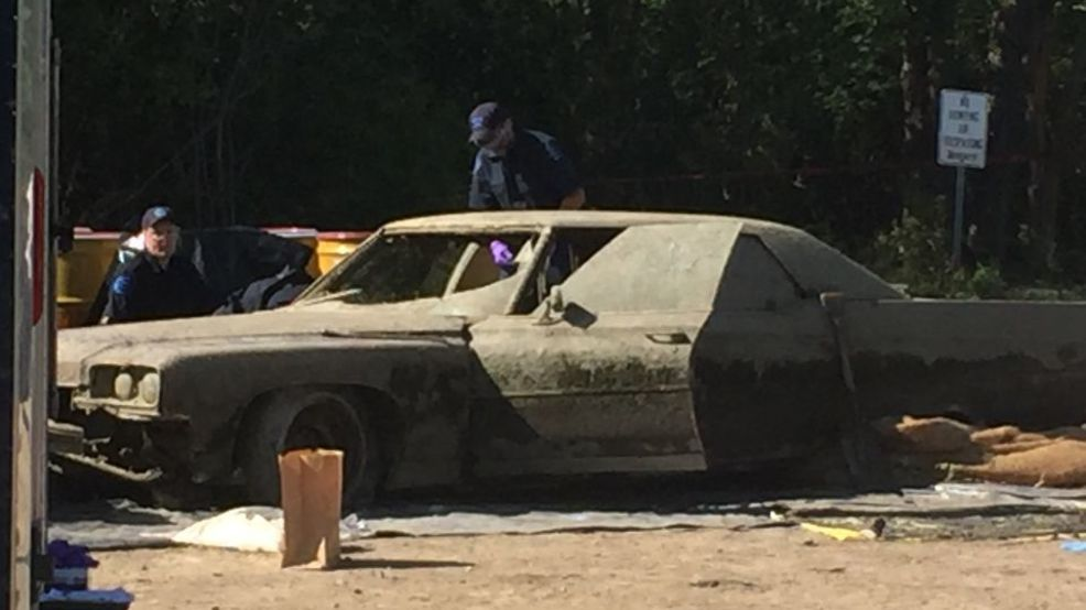 Divers stumble across submerged car in Mississippi during ... |Submerged Car
