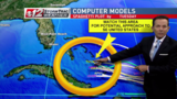Tropical disturbance may track toward U.S.