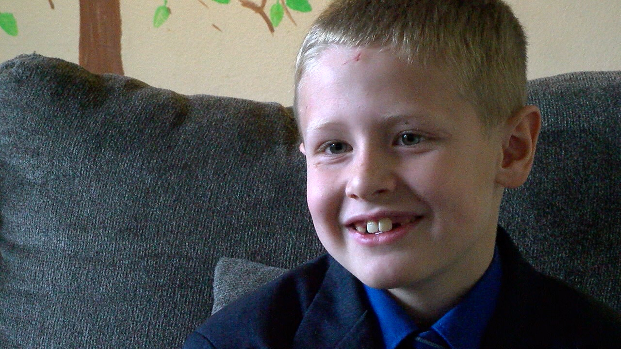 <p>While it might have been a scary moment for any other seven year old, for Hayden, it's something he hopes to do in the future. (KTUL)</p>