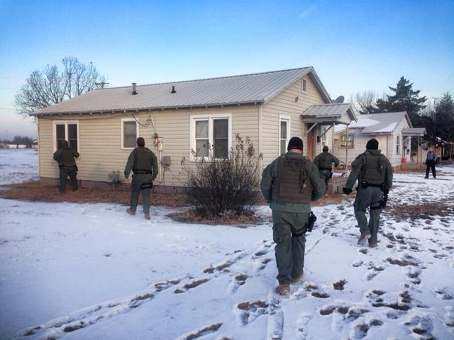 Agents with the Oklahoma Bureau of Narcotics started their morning extra early and arrested several people accused of selling and distributing methamphetamine in Garvin County.