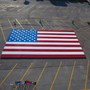 Omaha teen's massive Lego flag breaks world record