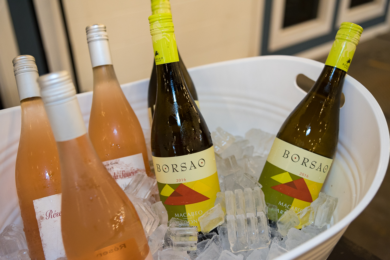 Various wines were offered during the event in addition to craft beer. / Image: Phil Armstrong, Cincinnati Refined // Published: 7.6.18