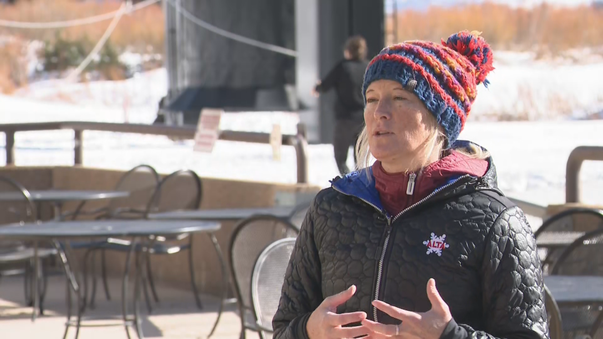 Andria Huskinson, communications manager for Alta Ski Area. (Photo: KUTV)