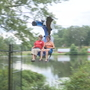 Zip line earning 'high' praise at Roger Williams Park Zoo