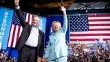 Clinton says veep pick Kaine is everything GOP ticket isn't