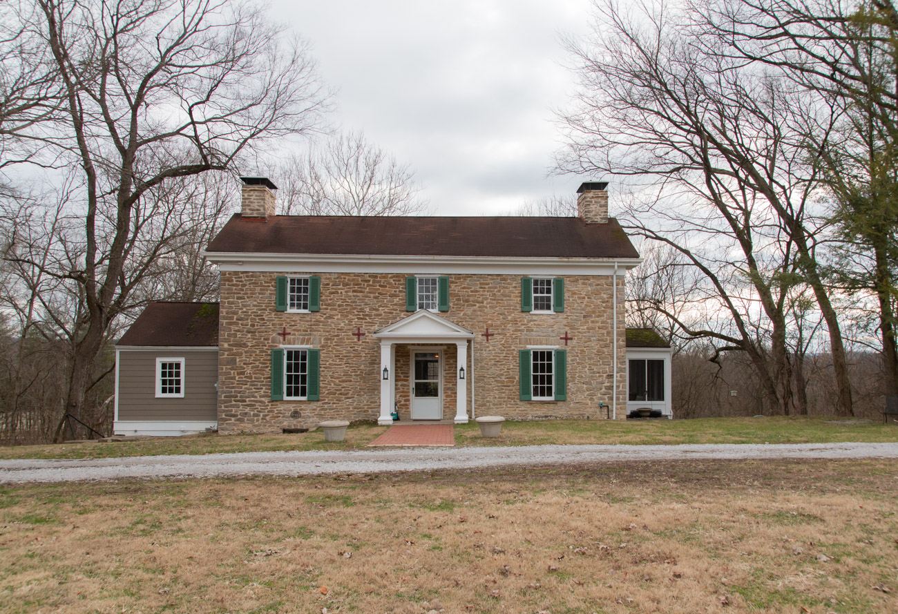 <p>Valley View is made up of three separate properties once owned by the families that settled it: the Gatch, Laudeman, and the Woodward-Craver families, all dating back to the 1800s. / Image: Elizabeth A. Lowry // Published: 2.25.20</p>