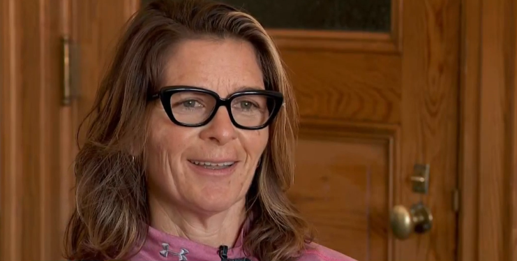 Wyoming city council candidate Deborah Reno is dealing with blow back after community members discovered what she thought was her secret identity online. (Photo: KUTV)