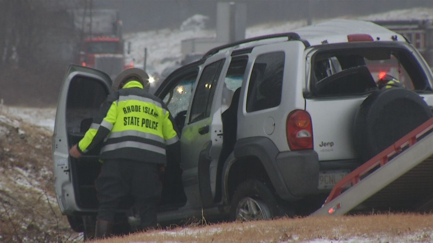 Authorities say a person from Massachusetts was seriously hurt in a crash in Lincoln on 146 south on Wednesday, Feb. 7, 2018. (WJAR){&amp;nbsp;}<p></p>