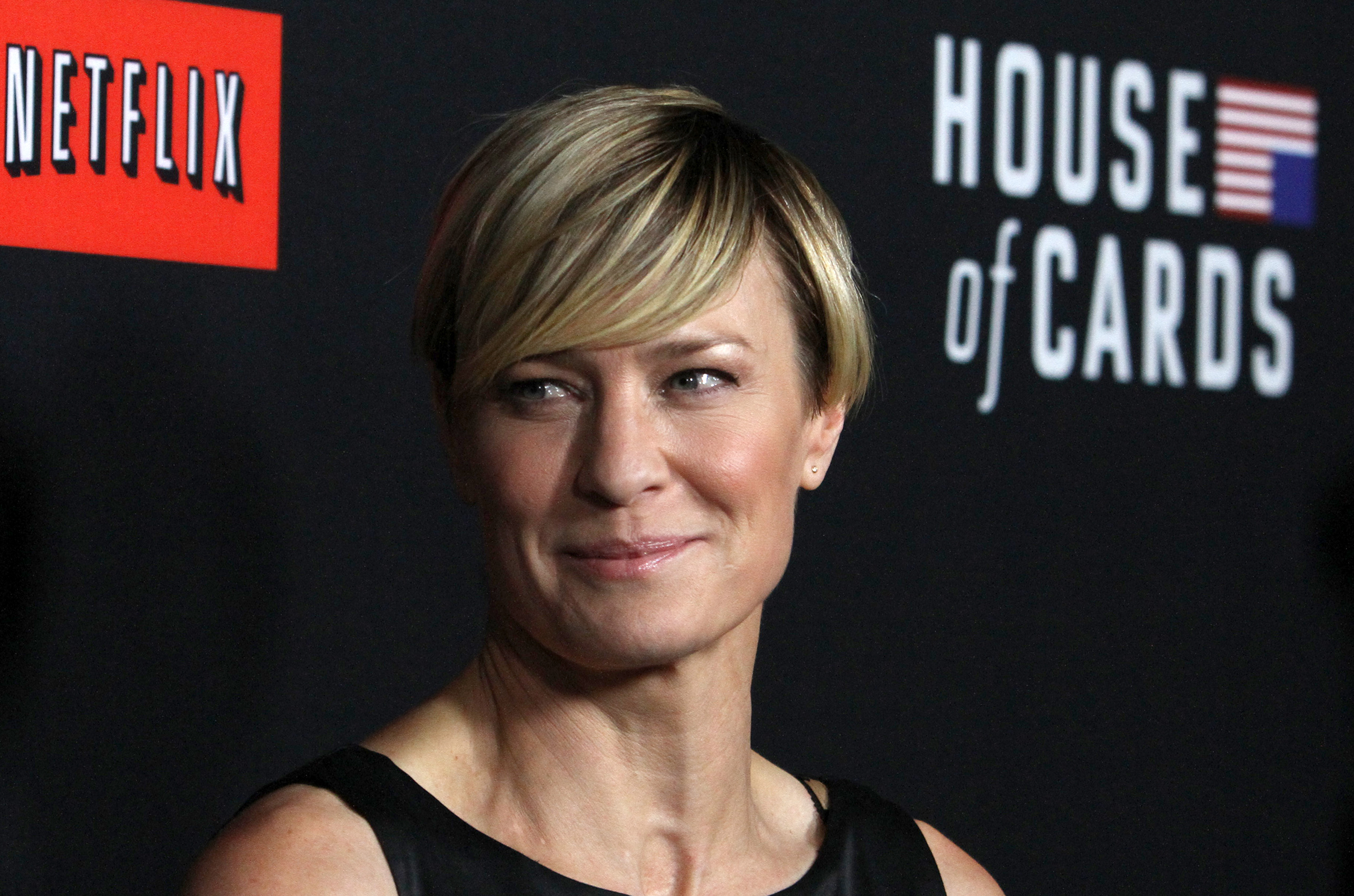 "Special Screening Of Netflix's ""House Of Cards"" Season 2 At Directors Guild Of America  Featuring: Robin Wright Where: Los Angeles, California, United States When: 14 Feb 2014 Credit: FayesVision/WENN.com"
