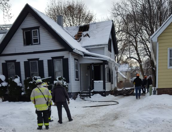 Avenue E, Rochester (Photo: Rochester Fire Department)<p></p>