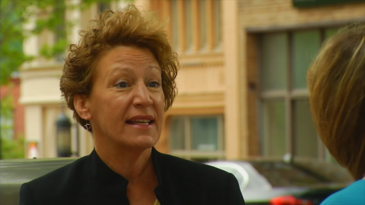 Gwen Wisler, Asheville's vice mayor, said the city's lack of high-paying jobs is a problem officials are well aware of.  (Photo credit: WLOS staff)