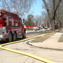 Firefighter sent to the hospital after Beaver Dam fire