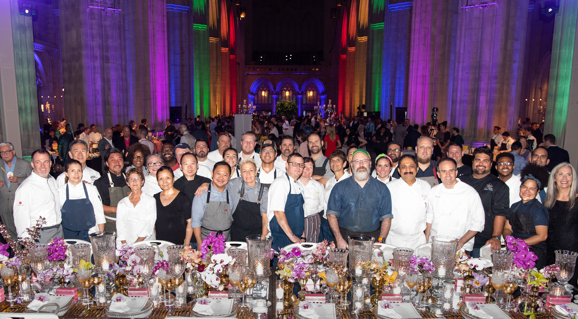 Only a handful of the more than 120 participating chefs and mixologists. (Image:{&amp;nbsp;}Jeff Martin for Human Rights Campaign)<br>