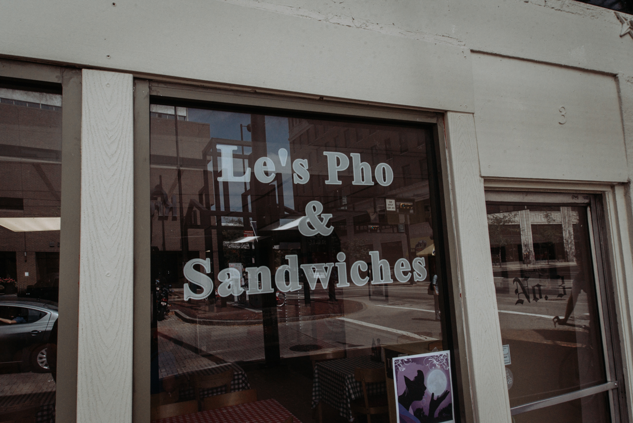 Le's Pho is a Vietnamese restaurant that serves pho, crab rangoon, spring rolls, and banh mi sandwiches among other menu items. ADDRESS: 3 E. Court Street (45202) / Image: Brianna Long // Published 10.3.17