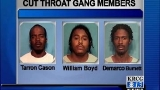 Mugshots released of Cut Throat gang members