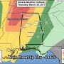 The Weather Authority: Severe Storm Potential Late Tomorrow/Tomorrow Night