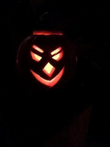 And his pumpkin!