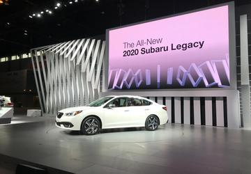2019 Chicago Auto Show: 4 things to know about the all-new 2020 Subaru Legacy