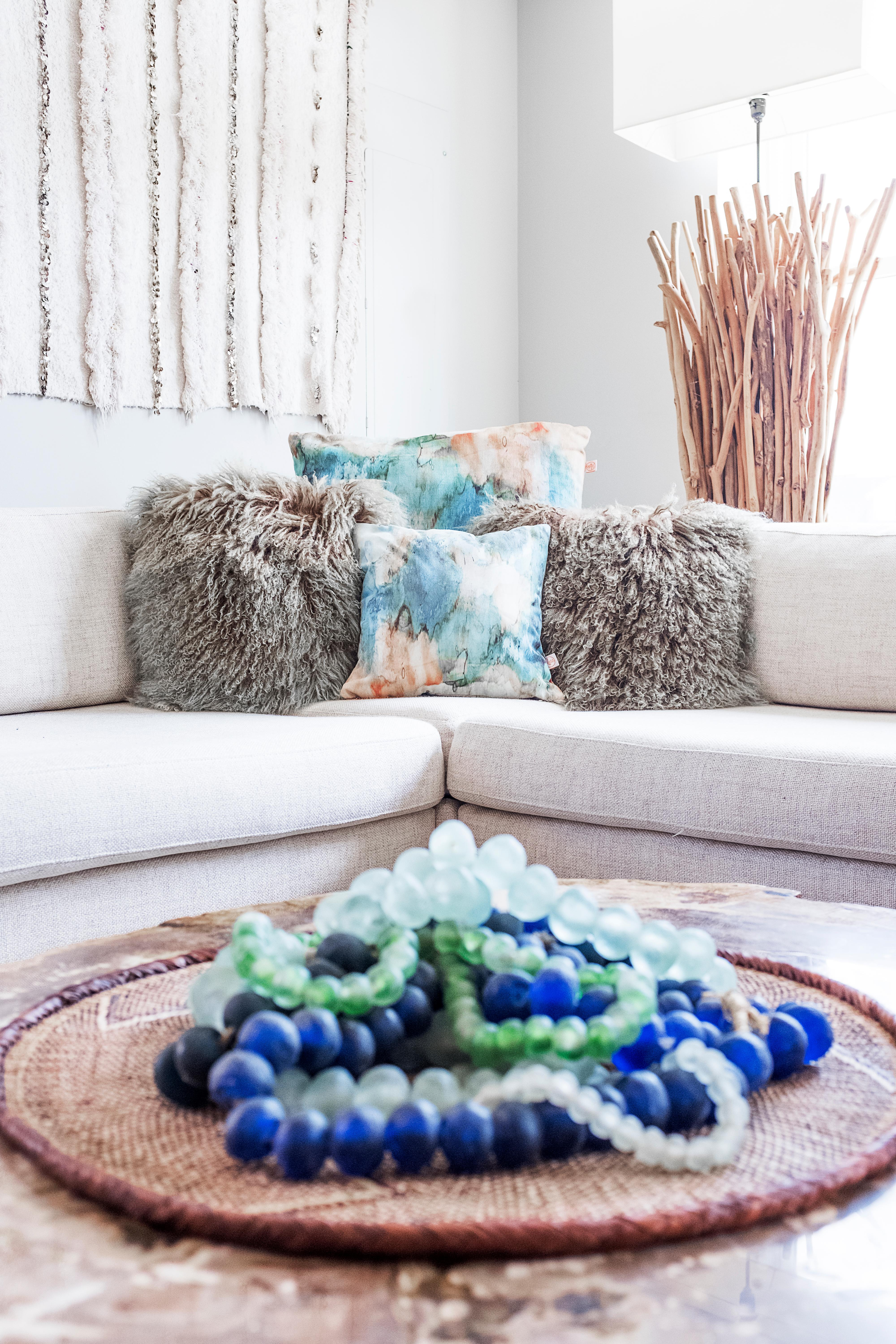 Summer is the perfect time to commit to a bit of color and bold pattern. (Image: Ashley Hafstead)