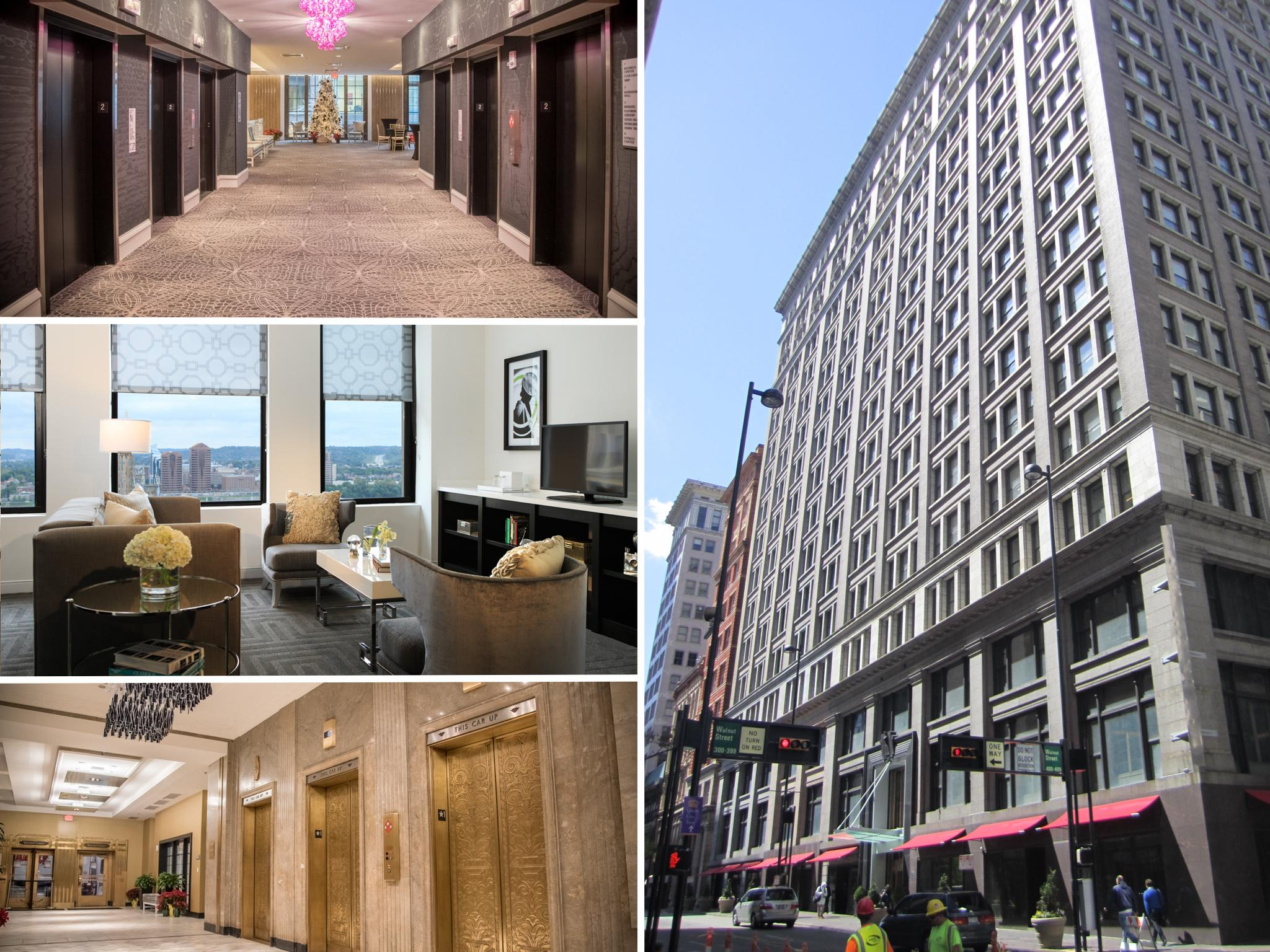 RENAISSANCE HOTEL (After) / ADDRESS: 36 E 4th Street (45202) / CREDIT: $5,000,000 / PREVIOUSLY: Union Trust Building / Images: Phil Armstrong