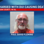 Man charged with DUI causing death after woman found in roadway dies