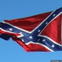Confederate flags flown on roofs of Charleston parking decks